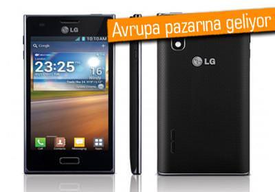 LG OPTİMUS L5 AVRUPA'YA GELİYOR