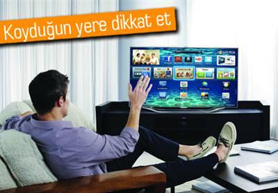 HAREKET VE SESLE KONTROL EDİLEBİLEN AKILLI TV