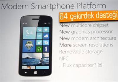 WİNDOWS PHONE 8 AYRINTILARI BELLİ OLDU