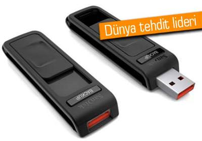 USB'LERDEKİ TEHLİKEYE DİKKAT