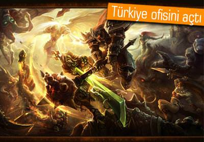 LEAGUE OF LEGENDS'IN YARATICISI RİOT GAMES TÜRKİYE PAZARINDA!