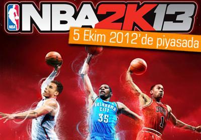 NBA 2K13'ÜN KAPAĞINDA HANGİ OYUNCULARIN OLACAĞI BELLİ OLDU