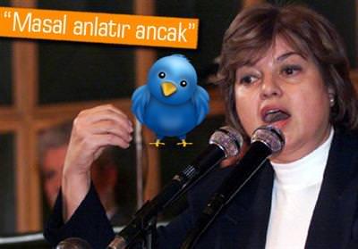 TANSU ÇİLLER'E TWİTTER TEPKİSİ