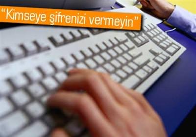 ÖSYM'DEN ''İNTERNET ŞİFRESİ'' UYARISI