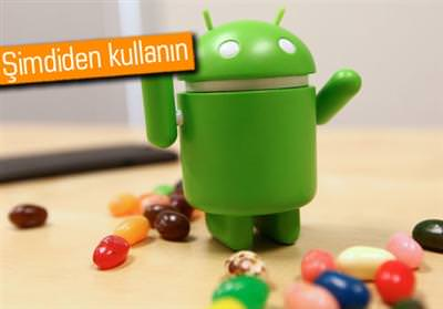 SAMSUNG GALAXY S2, GALAXY S3 VE HTC ONE X'E ANDROİD 4.1 JELLY BEAN