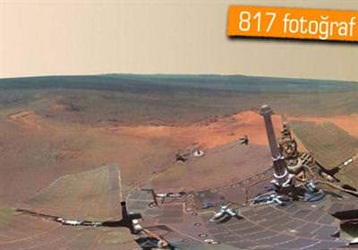360 DERECE AÇIYLA MARS FOTOĞRAFLARI