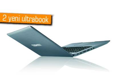TOSHİBA'DAN 2 YENİ ULTRABOOK; SATELLİTE U840W VE SATELLİTE U840