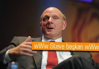 STEVE BALLMER: ''APPLE NEREYE BİZ ORAYA''