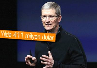 APPLE CEO'SU TİM COOK SERVETİNE SERVET KATIYOR