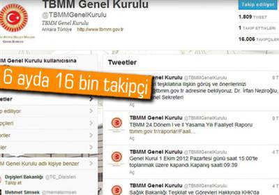 MECLİS'TEN ''TWEET'' VAR