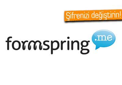 420,000 FORMSPRİNG KULLANICISININ ŞİFRESİ ÇALINDI