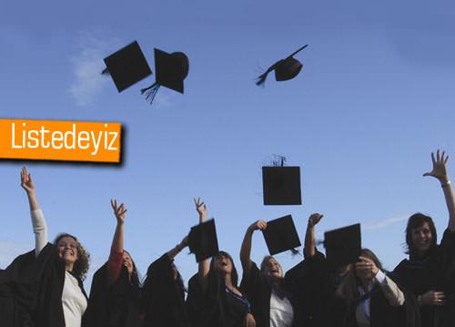 Dünyada 'En iyi 500' arasında 10 Türk üniversitesi