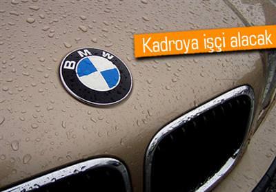 BMW, 3 BİN İŞÇİ ALACAK