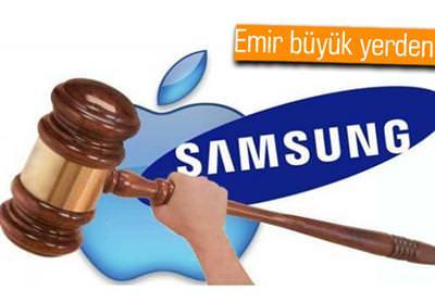 APPLE RESMİ SİTESİ ''SAMSUNG TABLETLERİNİ BİZDEN KOPYALAMADI'' YAZACAK