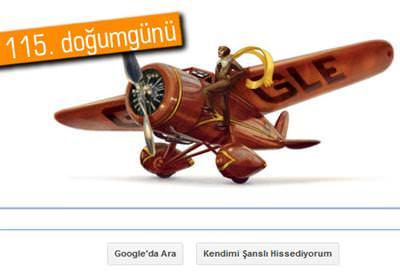 GOOGLE'DAN AMELİA EARHART'A ÖZEL DOODLE