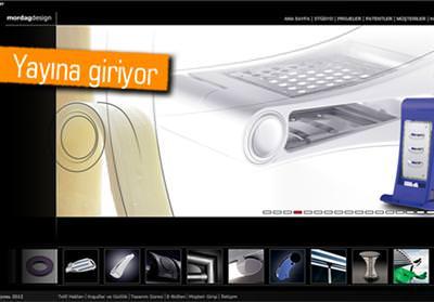 MORDAG DESİGN'İN YENİ WEB SİTESİ YAYINDA