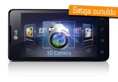 LG OPTİMUS 3D MAX TÜRKİYE'DE İLK KEZ VODAFONE'DA