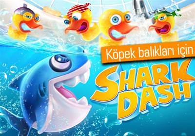 GAMELOFT, DİSCOVERY CHANNEL VE WİLDAİD'DEN ORTAK OYUN: SHARK DASH
