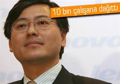 LENOVO CEO'SUNDAN ÇALIŞANLARINA JEST