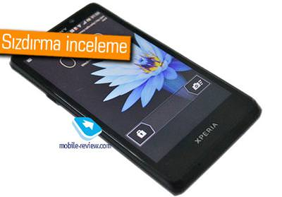SONY LT30P MİNT AKILLI TELEFONU SIZDIRILDI VE İNCELENDİ