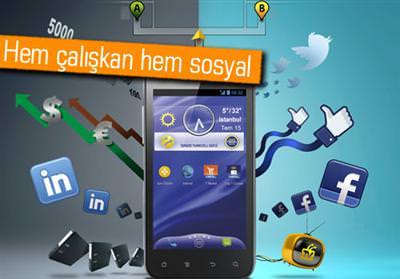 TURKCELL'DEN YENİ AKILLI TELEFON: MAXİPRO5