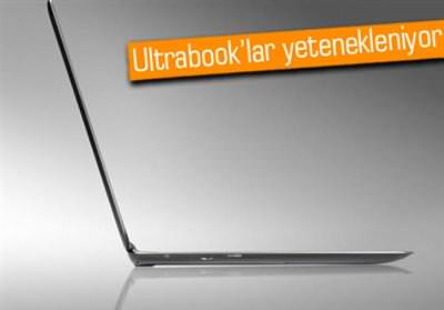 ULTRABOOK'LAR WİNDOWS 8 İLE EVRİM GEÇİRECEK