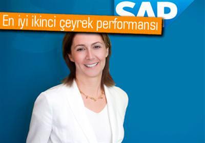 SAP, 1 MİLYAR EURO'YU GEÇEN YAZILIM GELİRİ İLE TARİHİNİN EN İYİ İKİNCİ ÇEYREK PERFORMANSINI ELDE ETTİ