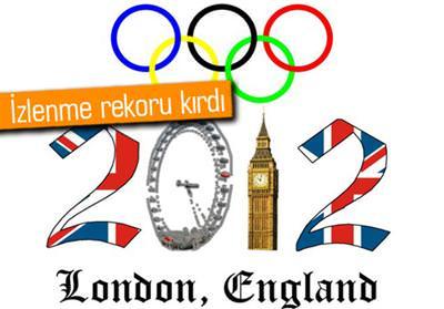 LONDRA OLİMPİYATLARI, NBC'DE İZLENME REKORU KIRDI