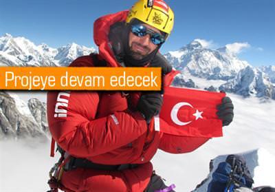 TUNÇ FINDIK DAĞLARIN DAĞI K2'NİN ZİRVESİNDE