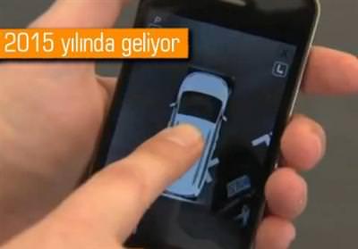 OTOMOBİLLER CEP TELEFONU İLE PARK EDİLEBİLECEK