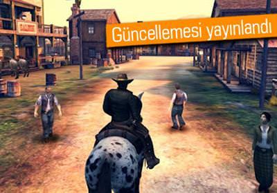 GAMELOFT SİX GUNS'U GÜNCELLEDİ