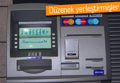 ATM TUZAKLARINA DİKKAT!