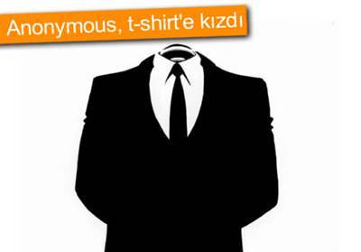 ANONYMOUS, T-SHİRT'LERDE LOGOSUNU KULLANAN FİRMAYA SAVAŞ AÇABİLİR!