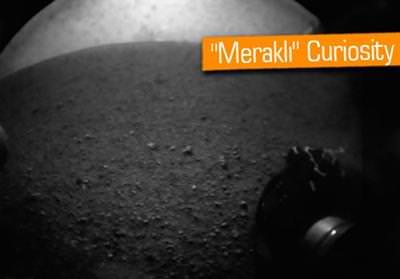 MARS ROBOTU CURİOSİTY, KIZIL GEZEGENE İNDİ