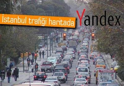 YANDEX'DEN İSTANBUL TRAFİĞİNİN STRES HARİTASI