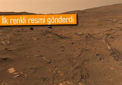 NASA CURİOSİTY'İN ÇEKTİĞİ YENİ MARS GÖRÜNTÜLERİNİ YAYINLADI