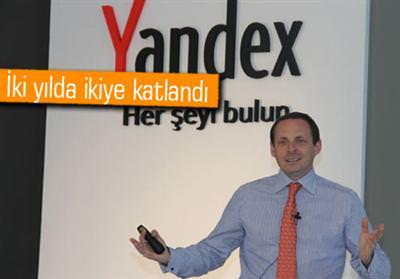 YANDEX TÜRKİYE'DE GOOGLE'A RAKİP