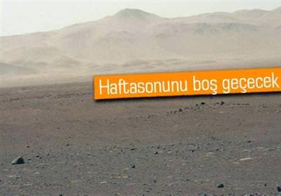 MARS'TA İKİNDİ VAKTİ