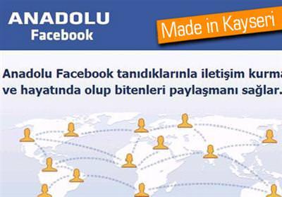 YERLİ FACEBOOK'UN YAYININA DURDURMA