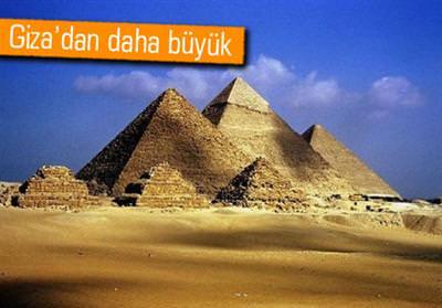 MISIR'IN KAYIP PİRAMİTLERİ GOOGLE EARTH'LE BULUNDU
