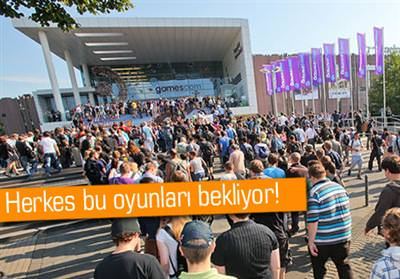 GAMESCOM 2012 BAŞLIYOR!