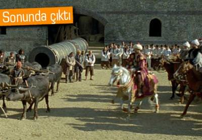 FETİH 1453'ÜN DVD'Sİ ÇIKTI