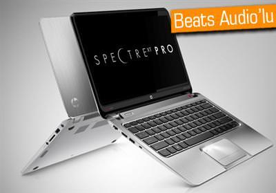 HP SPECTREXT ULTRABOOK: BEATS AUDİO'LU PARTNERİNİZ