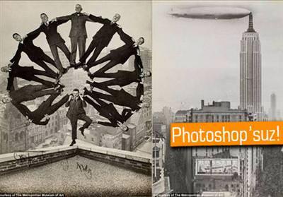 PHOTOSHOP'TAN ÖNCE FOTOĞRAF SANATI