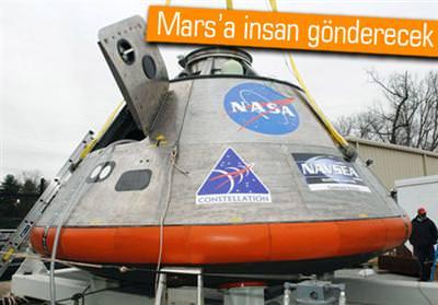 MARS'A ASTRONOT TAŞIYACAK ORİON UZAY ARACINA TÜRK YÖNETİCİ