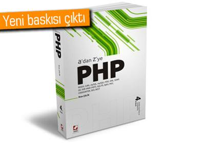 A'DAN Z'YE PHP'NİN 4. BASKISI YAYINLANDI