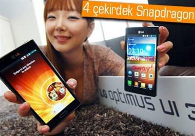 LG'NİN GALAXY S3 KATİLİ YOLDA: LG OPTİMUS G