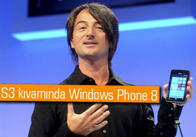 SAMSUNG'TAN WİNDOWS PHONE 8'Lİ TELEFONLAR
