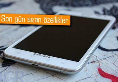 SAMSUNG GALAXY NOTE 2'NİN ÖZELLİKLERİ SIZDIRILDI