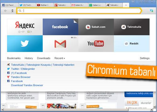 Yandex Browser 1.0